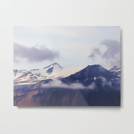 Mountain Time, Iceland Travel Photography Metal Print
