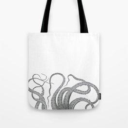 Vintage kraken octopus tentacles nautical antique sea creature steampunk graphic print Umhängetasche