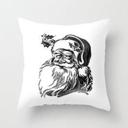 Christmas decoration.Merry Christmas.Christmas wishes.Christmas gift idea Throw Pillow