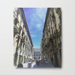 Turin in May Metal Print