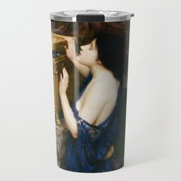 PANDORAS BOX - JOHN WILLIAM WATERHOUSE  Travel Mug