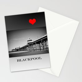 North Pier Blackpool Stationery Cards