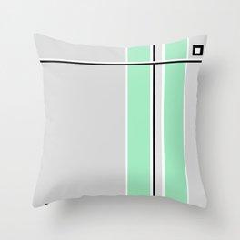 Element Emerald Green Throw Pillow