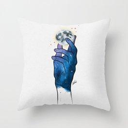 Imagine. Throw Pillow