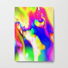 Abstract Nude Color Study 37 Metal Print