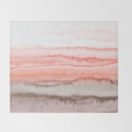 WITHIN THE TIDES CORAL DAWN Throw Blanket