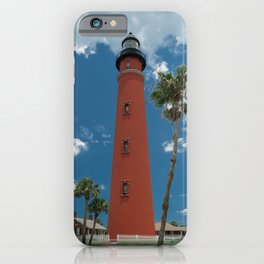 Ponce de Leon Misquito Inlet Tallest Lighthouse in Florida iPhone Case