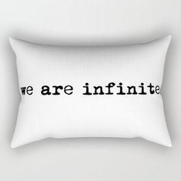 We are infinite. (Version 1) Rectangular Pillow