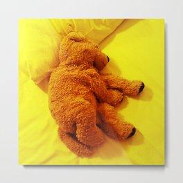 Love is... Teddy dog Metal Print