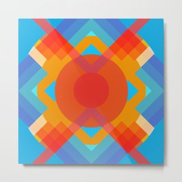 Wasoldas - Colorful Abstract Art Metal Print