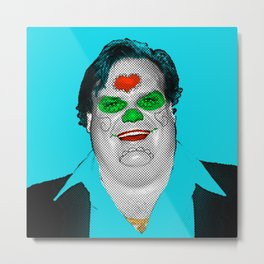 Chris Farley Metal Print