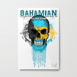 To The Core Collection: Bahamas Metal Print
