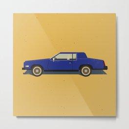 Slab - 1985 Caddy Eldorado Metal Print