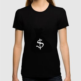 Bag Of Cash Isolated T-shirt