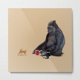 I Should, Koko (Colour) Metal Print