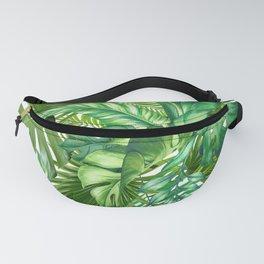 green tropic Fanny Pack