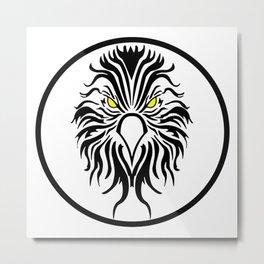 Firehawk Metal Print