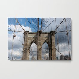 new york city ... brooklyn bridge III Metal Print