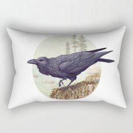 Raven of the North Atlantic Rectangular Pillow