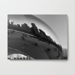 Chrome Bean Metal Print
