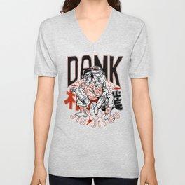 Dank Jiu-Jitsu x Half Sumo Collective Crossover T-shirt Unisex V-Neck