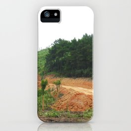 Earth Laceration iPhone Case