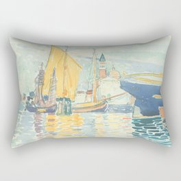 Venice The Giudecca by Henri-Edmond Cross 1903, French Rectangular Pillow