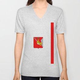 flag of Vologda Unisex V-Neck