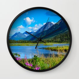 God's_Country - II Wall Clock