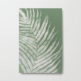 Fern Leaf Metal Print