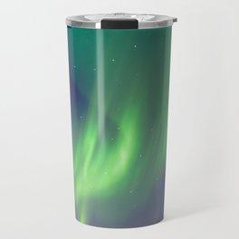 The Northern Lights (Aurora Borealis) Travel Mug