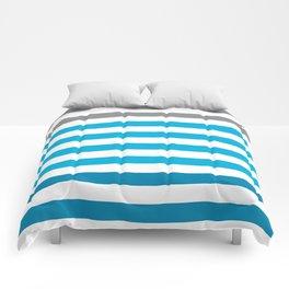 Stripes Gradient - Blue Comforters