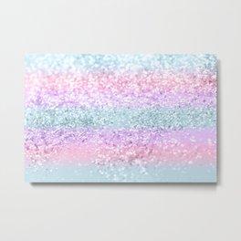 Unicorn Girls Glitter #11 #shiny #pastel #decor #art #society6 Metal Print