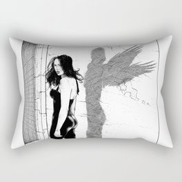 asc 871 - Le Sphinx (The answer that opens the gate) Rectangular Pillow