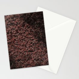 Autumn's red hedge Stationery Cards