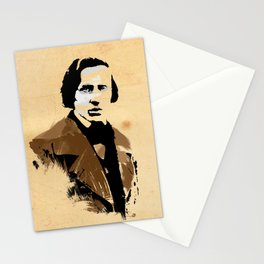 Frederic Chopin - Polish Composer, Pianist Stationery Cards