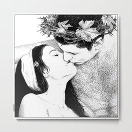 asc 529 - Le baiser du deux fois né (The Bakuss) Metal Print