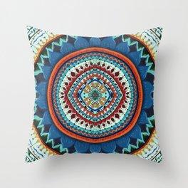 In Dreams Mandala Throw Pillow