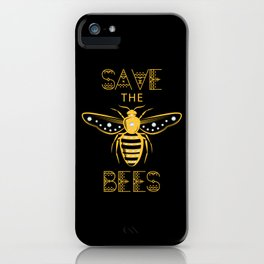 Save the Bees Save the Bees bee whisperer iPhone Case