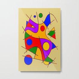 Abstract #206 Metal Print