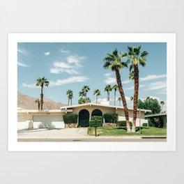 Memory form California Art Print