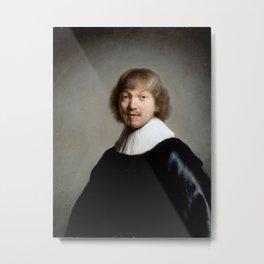 Portrait of Jacob de Gheyn (III) Metal Print