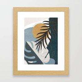 Abstract Tropical Art II Framed Art Print