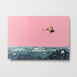 Higher Than Mountains Metal Print