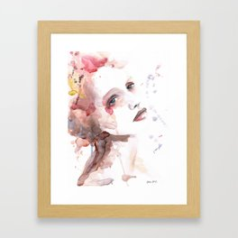 Ild (flame) Framed Art Print