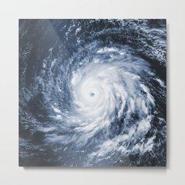Hurricane Igor Metal Print