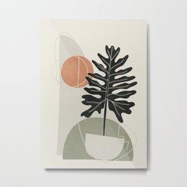 Minimal Abstract Shapes No.71 Metal Print