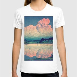 Admiring the Clouds in Kono T-shirt