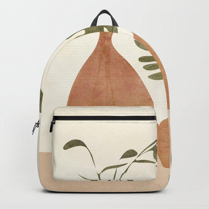 Two Living Vases Backpack