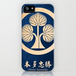hon da tadakatsu kamon iPhone Case